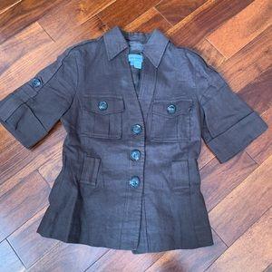 Zara linen jacket
